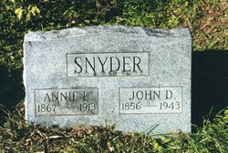 Annie Laura <i>George</i> Snyder