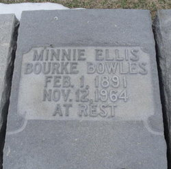 Minnie Bourke <i>Ellis</i> Bowles