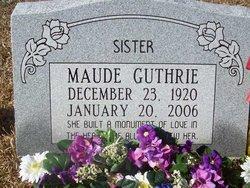 Maude Guthrie