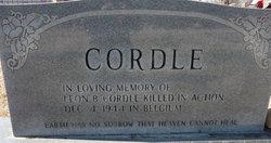 Leon B Cordle