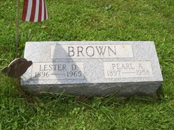 Pearl Amanda <i>McGinnis</i> Brown