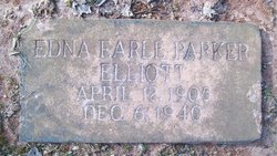 Edna Earle <i>Parker</i> Elliott