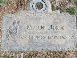 Maude Lillian Burck