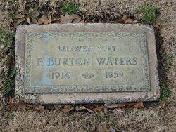 Frederick Burton Burt Waters