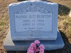 Nannie Blanche <i>Jett</i> Bloxton