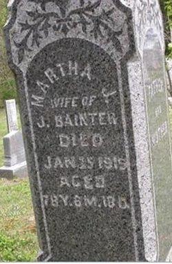 Martha J <i>Eckelberry</i> Bainter