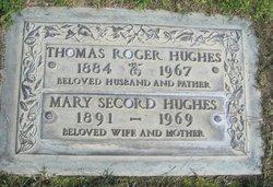 Mary <i>Secord</i> Hughes