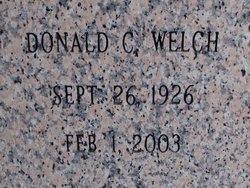 Donald C. Don Welch