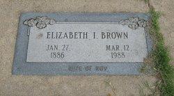 Elizabeth I. Brown