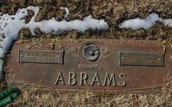 Anna J. <i>Thedford</i> Abrams