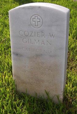 Cozier Wellington Co or Pi Gilman, Sr