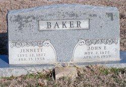 Jennett <i>Yeats</i> Baker