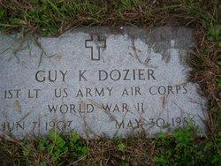 Lieut Guy K. Dozier