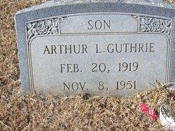 Arthur L Guthrie