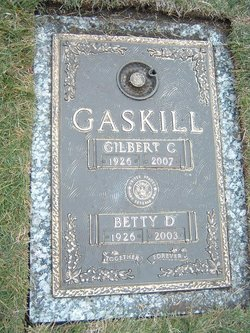 Betty Donaldine <i>Mackey</i> Gaskill
