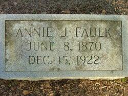 Annie M. <i>Johnson</i> Faulk