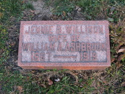 Jennie Belle <i>Willison</i> Ashbrook