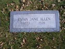Emma Jane <i>Mullory</i> Allen
