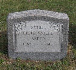 Effie D. <i>Wolfe</i> Asper