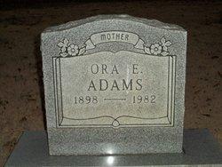 Ora E. Adams