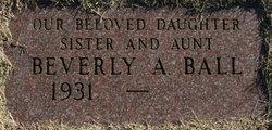 Beverly Ann Ball