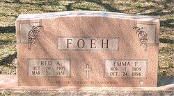 Emma Elizabeth <i>Sedlacek</i> Foeh