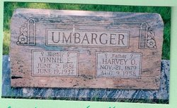 Mrs Vinnie Ellen <i>Baldwin</i> Umbarger