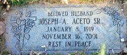 Joseph A Aceto, Sr