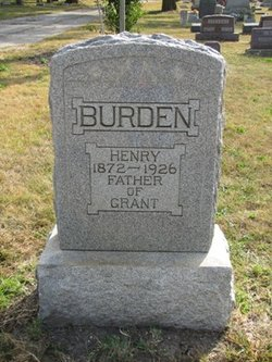 Henry Burden