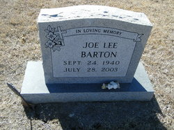 Joe Lee Barton