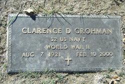 Clarence D Grohman