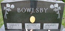 Matthew J Bowlsby