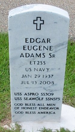 Edgar Eugene Adams, Sr