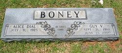 Alice <i>Dial</i> Boney