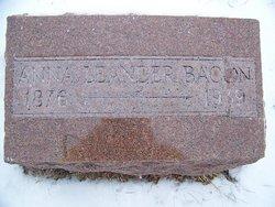 Anna <i>Leander</i> Bacon