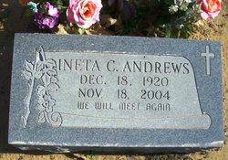 Clara Ineta <i>Williams</i> Andrews