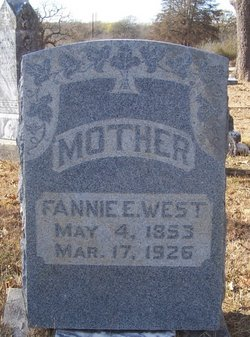 Frances E. Fannie <i>Wilson</i> West