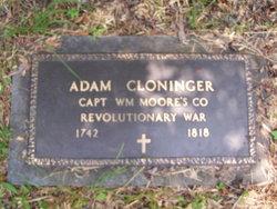 Johan Adam Cloninger, Sr