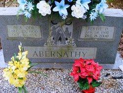 N. A., Sr. Ode Abernathy