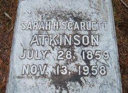 Sarah Hardee <i>Scarlett</i> Atkinson