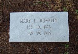 Mary G <i>Lowe</i> Bunkley