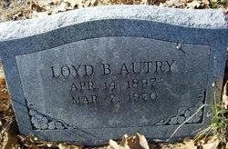 Lloyd Byron Autry