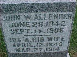Ida Amelia <i>Bates</i> Allender