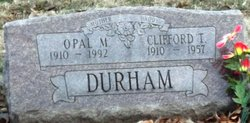 Clifford Thomas Durham