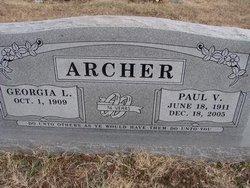Paul V Archer