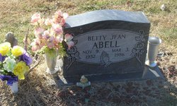 Betty Gean <i>Hensley</i> Abell