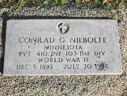 Conrad G Niebolte, Jr