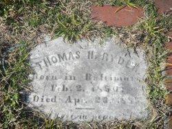 Thomas H. Ryder