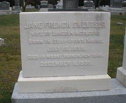 Jane French <i>Sweetser</i> Colcord