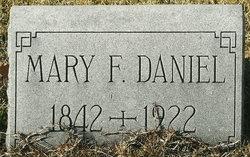 Mary Frances <i>Parker</i> Daniel